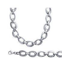 Bracelet / Collier Acier