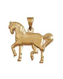 Pendentif Plaqué Or cheval