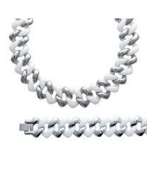 Bracelet Acier Céramique